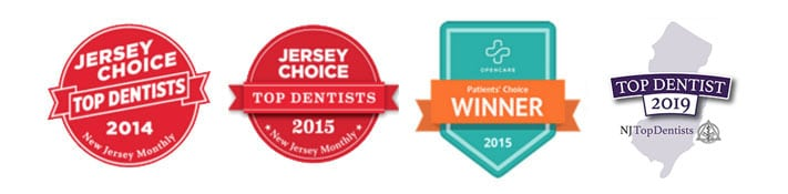 Badges Gorkowitz Orthodontics Livingston Hasbrouck Heights NJ